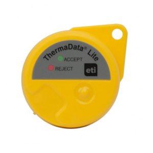 ThermaData Lite logger – Amarelo