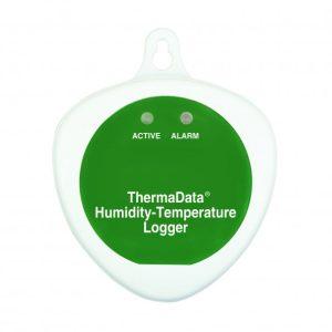 Registador de temperatura e humidade sem LCD e sonda interna