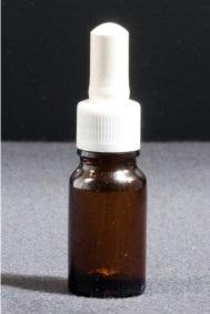 Frasco conta-gotas, vidro âmbar, 100 ml
