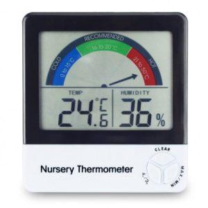 Termohigrómetro 0 a 50 °C/10 a 99% HR