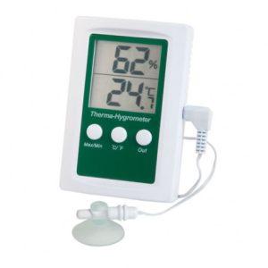 Termohigrómetro digital 0°C – 50°C e 20% – 99% RH