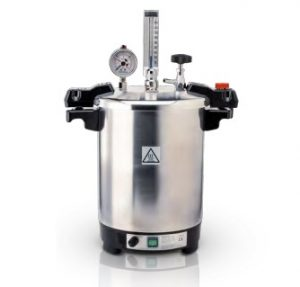 Esterilizador Certoclav CV EL 12 L 125/140°C