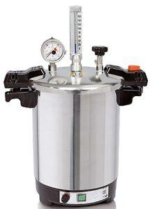 Esterilizador Certoclav CV EL 18 L 115/121°C (inclui cesto em arame)