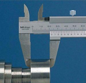 Paquímetro analógico 150 mm