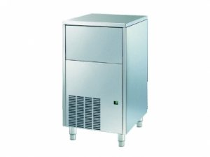 Máquina de gelo 46 Kg/24h, cubo de gelo 42 g