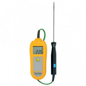 Termómetro Food Check amarelo, -50°C a 300ºC