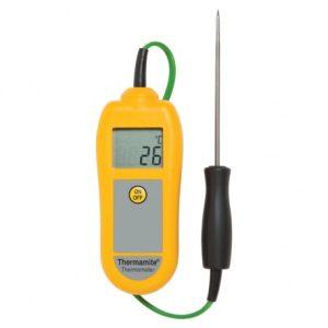 Termómetro Thermamite amarelo, -50°C a 300°C
